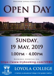 Open Day – May 2019